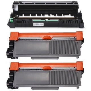 3-pack Replacing Brother 2 by TN-660 Toner Cartridge Plus 1 by DR-630 Drum Unit