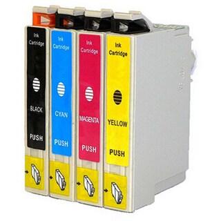4-pack Replacing Epson 220 220XL T220120 T220XL120 T220XL220 T220XL320 T220XL420 Ink Cartridge
