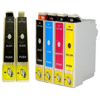 6-pack Replacing Epson 220 220XL T220120 T220XL120 T220XL220 T220XL320 T220XL420 Ink Cartridge