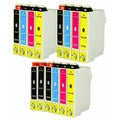 14-pack Replacing Epson 220 220XL T220120 T220XL120 T220XL220 T220XL320 T220XL420 Ink Cartridge