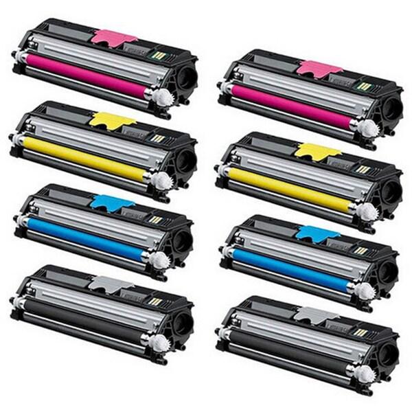 8-pack Replacing OKI Type D1 44250716 44250715 44250714 44250713 for Okidata C110 C130 MC-160N Mfp Series Printers