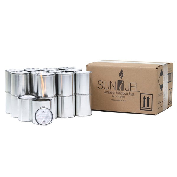 SunJel Gel Fuel Can (Pack of 24)