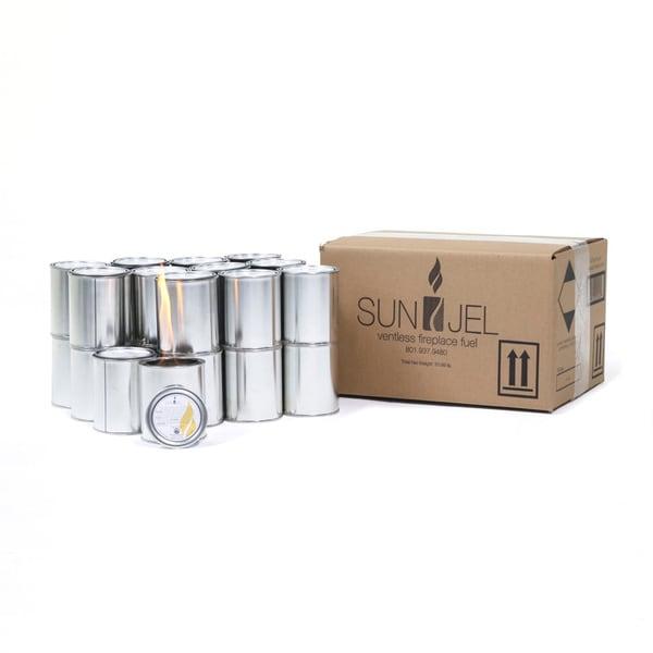 SunJel Citronella Gel Fuel Can (Pack of 24)