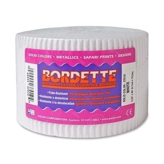 Pacon Bordette Scalloped Decorative Borders - 1/RL