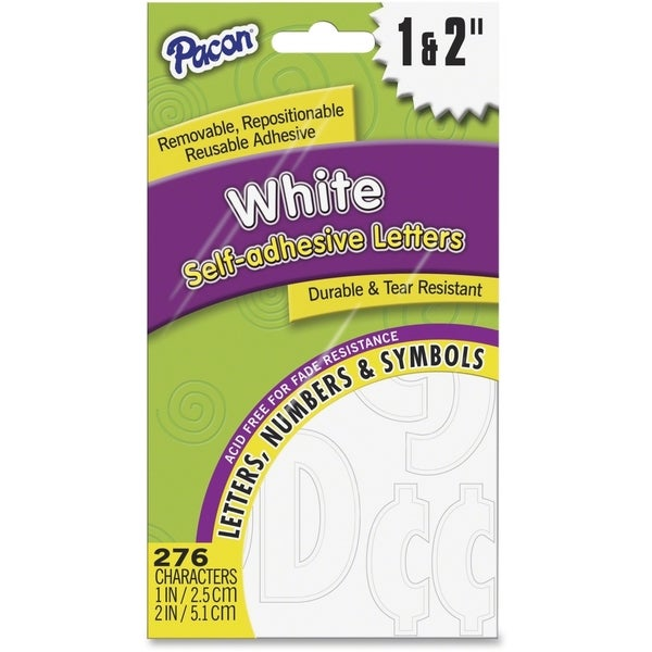 Pacon Reusable Self-Adhesive Letters - 1/PK