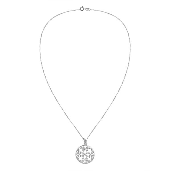 Blossoming Flower of Life .925 Sterling Silver Necklace (Thailand)