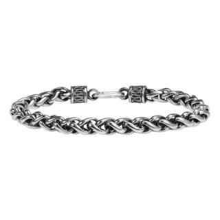 Tribal Chain Unique Hill Tribe Handmade Silver Bracelet (Thailand)