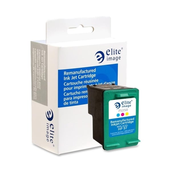 Elite Image Remanufactured Tri-color Ink Cartridge Alternative For HP 97 (C9363WN) - 1 Each