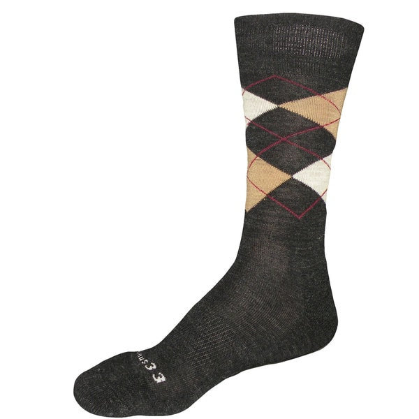 Minus33 Mens Merino Wool Argyle Socks