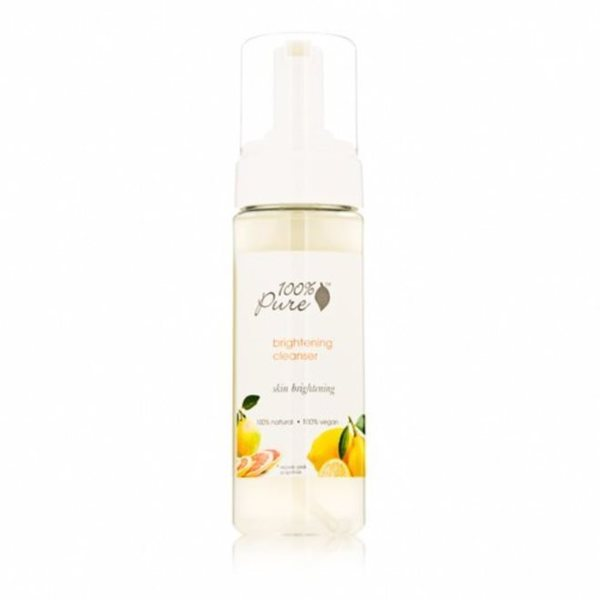 100% Pure Brightening 6-ounce Cleanser