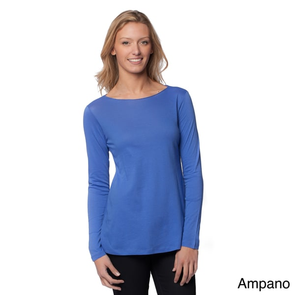 A to Z Women's Long Sleeve Flared Top
