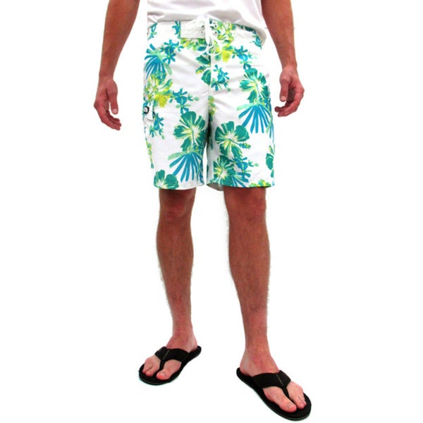 Gotcha Men's Floral Print Board Shorts