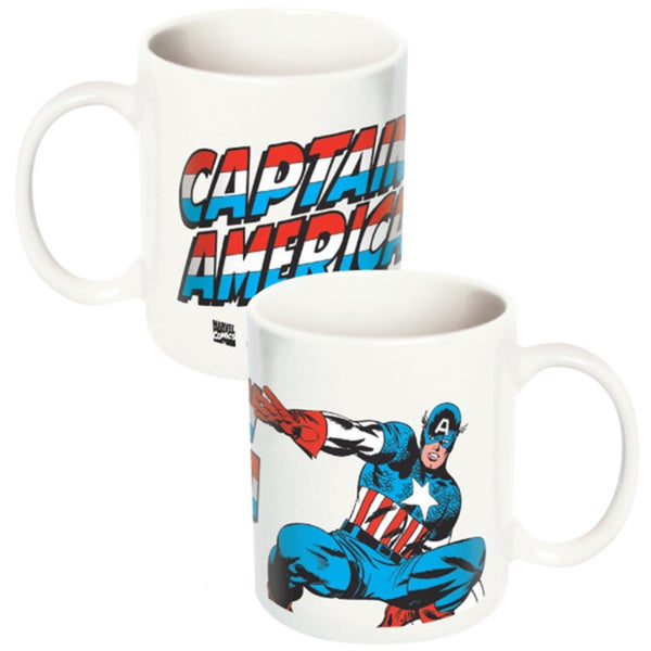 Marvel Comics Captain America Ceramic Coffee Mug