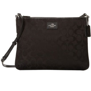 Coach Signature Nylon Crossbody