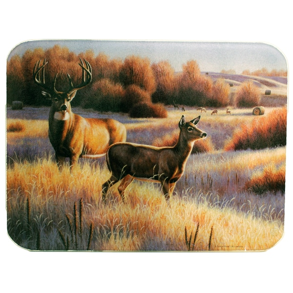 Rivers Edge Products Cutting Board Deer