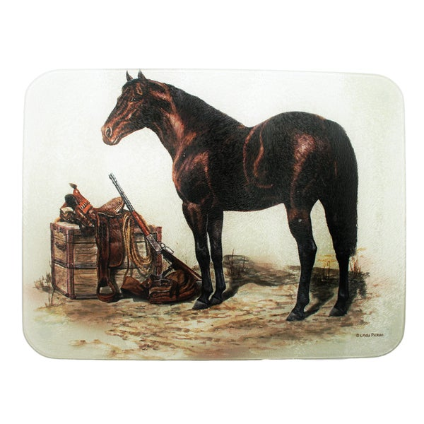 Rivers Edge Products Horse with Saddle Cutting Board
