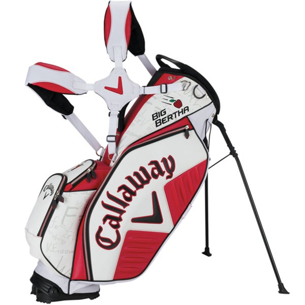 Callaway Big Bertha Red-White Stand Bag