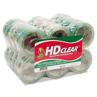 Duck Heavy-Duty Carton Clear Packaging Tape