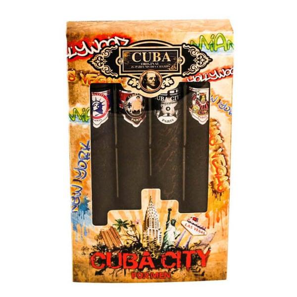 Champs Cuba City Collection 4-piece Gift Set