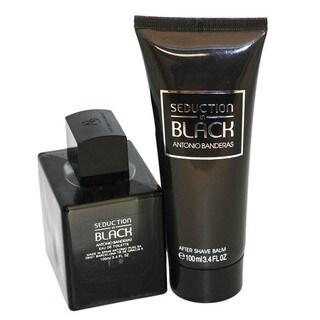 Antonio Banderas Seduction in Black Men's 2-piece Gift Set