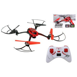R2165Q-RED 2.4G 4-CH RC Quadcopter with 2.0 MP Camera (Headless and Auto Home)