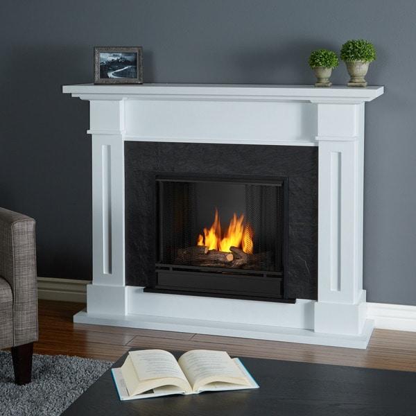 Real Flame Kipling White Gel Fuel Fireplace 17461454 Shoppi