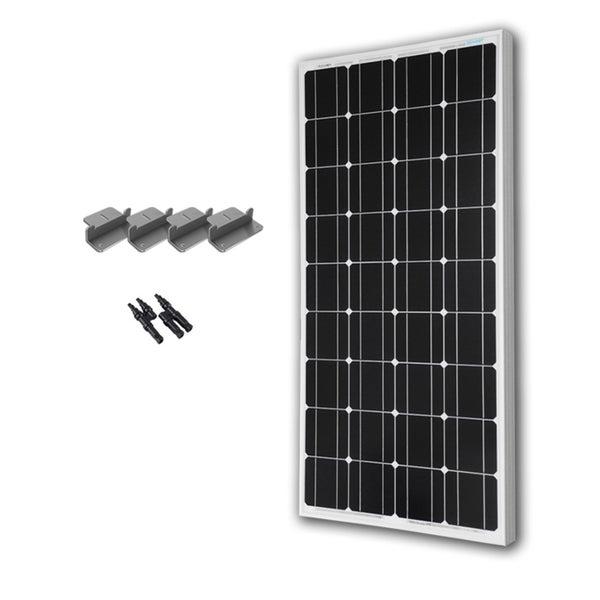 Renogy 100 Watts 12 Volts Monocrystalline Solar Expansion Kit
