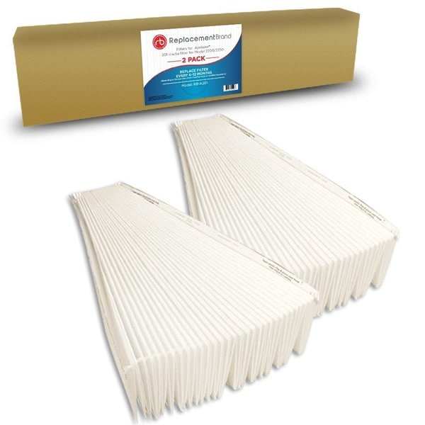 Aprilaire 2200/2250 Comparable Pleated Media Filter (Set of 2) 15816457