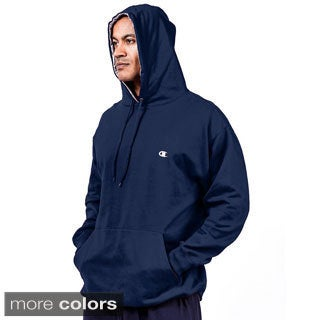 Champion Big and Tall Men's Pullover Fleece Hoodie with Contrast Liner