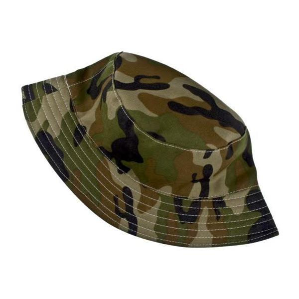Crummy Bunny Boys' Camouflauge Sun Hat