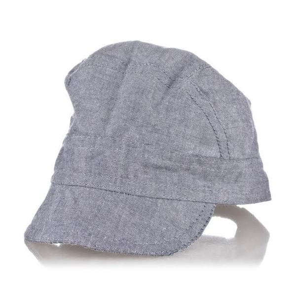 Crummy Bunny Boys' Blue Chambray Hat