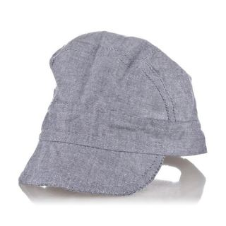 Crummy Bunny Boys' Blue Chambray Hat