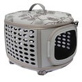 Iconic Pet Light Grey Deluxe Retreat Foldable Pet House