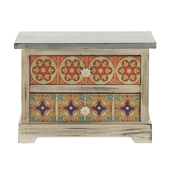 10-inch Wooden Accent Chest 15816902