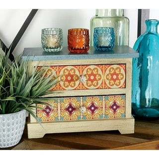 10-inch Wooden Accent Chest