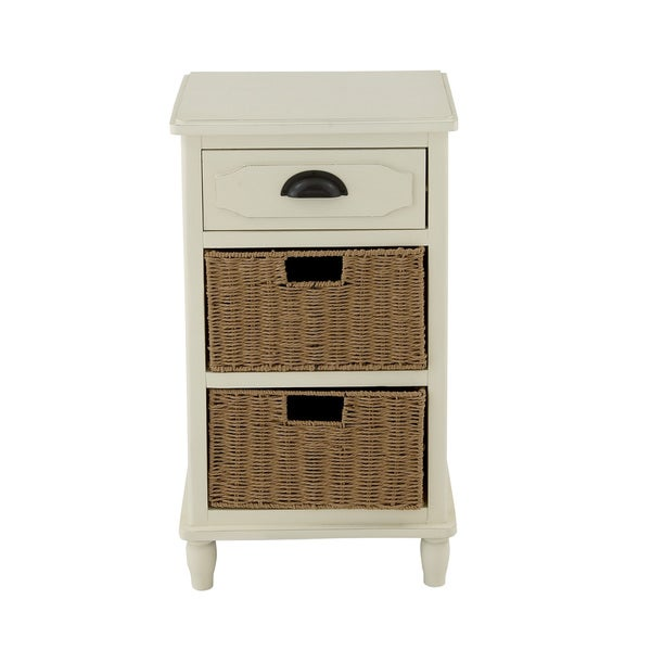 29-inch Wooden Small Chest with Drawers