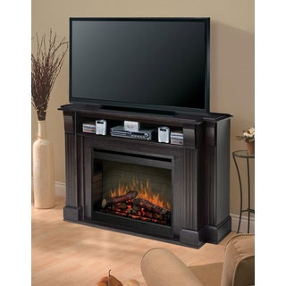 Langley Media Console Electric Fireplace