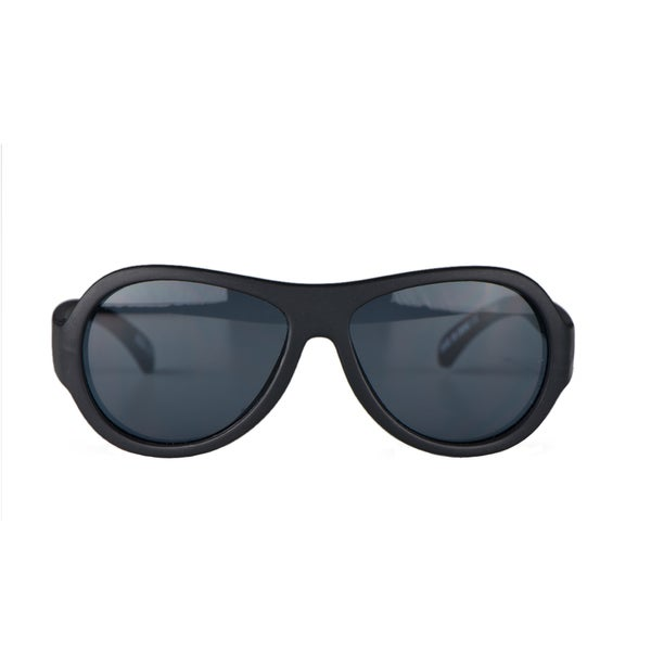 Crummy Bunny UV400 Black Sunglasses for Boys (3 - 7 Years)