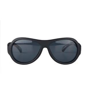 Crummy Bunny UV400 Black Sunglasses for Boys (3 - 7 Years)