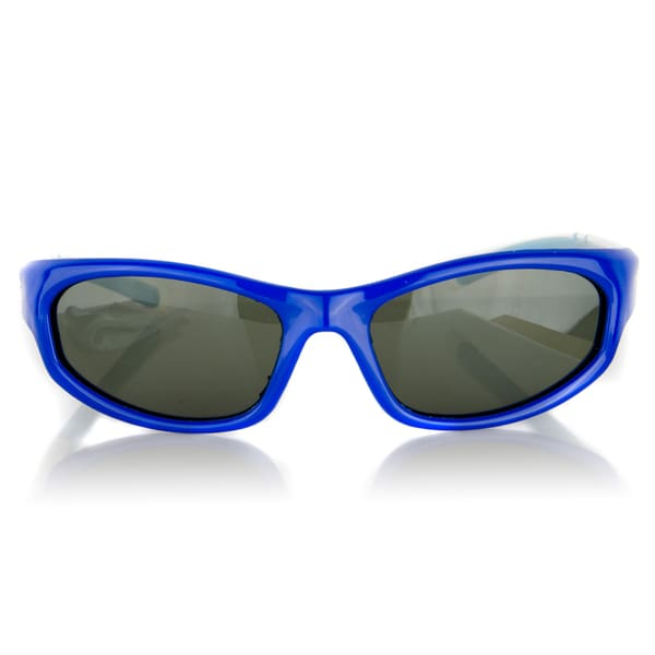 Crummy Bunny Kids' UV400 Polarized Blue Sunglasses for Ages 3 -11 Years
