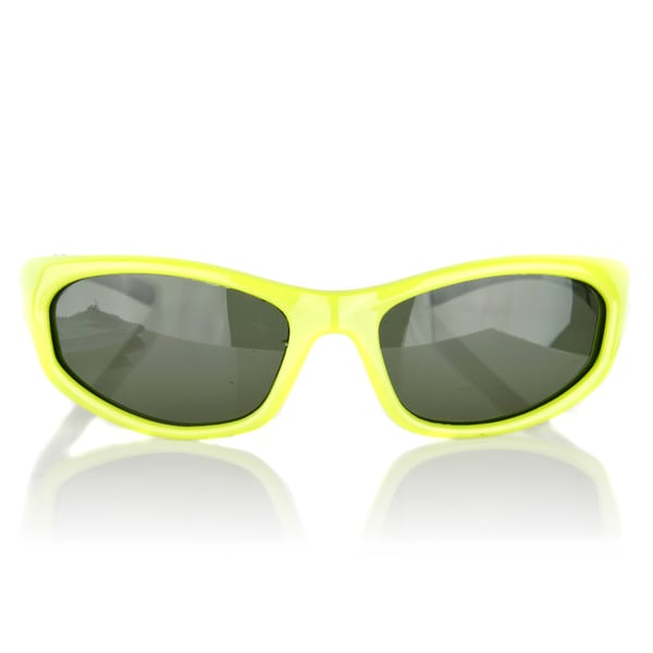Crummy Bunny Kids' UV400 Polarized Green Sunglasses for Ages 3 -11 Years