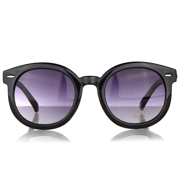 Crummy Bunny Black Vintage Style Fashion Baby Sunglasses