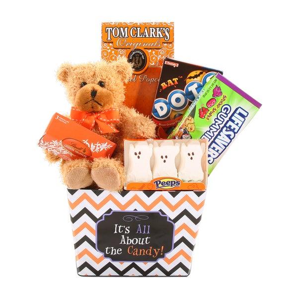 Beary Halloween Treats Gift Basket