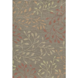 "Palma Brown Branches Rug (7'9""x9'9"")"