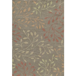Palma Brown Branches Rug (2'x3')