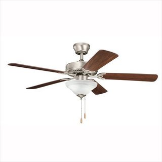 Kichler Sterling Manor Select 52-inch Satin Natural White Ceiling Fan