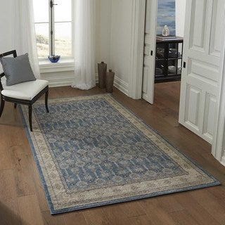 "Brighton Floral Panel Machine-Made Rug (7'10""x9'10"")"