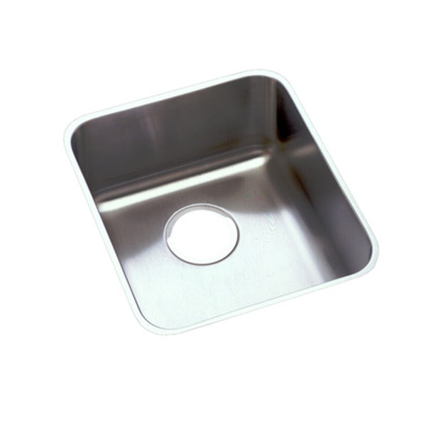Elkay Gourmet (UM) Stainless Steel Single Medium Bowl Kitchen Sink
