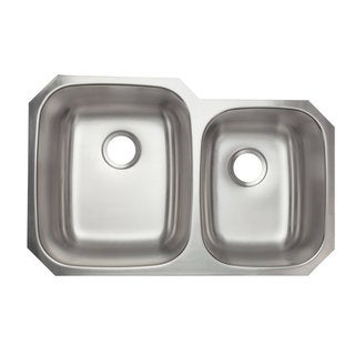 Designer Collection Double Bowl Stainless Steel 60/ 40 Kitchen Sink