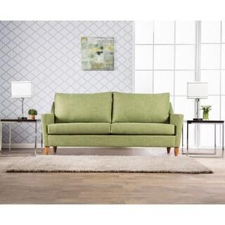 Furniture of America Weca Midcentury Modern Fabric Padded Sofa